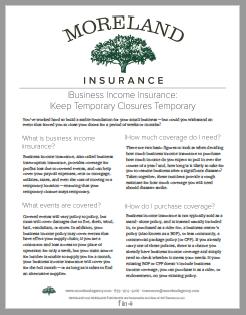 Business Liability Insurance -