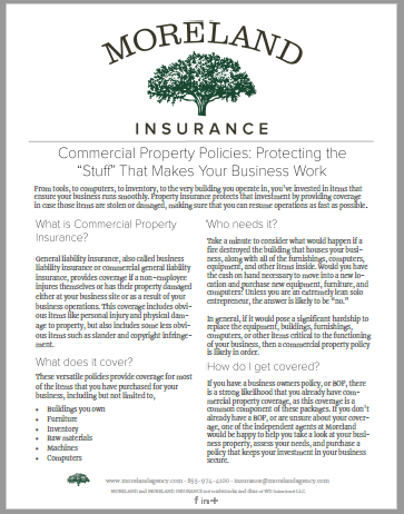 Commercial Property Insurance -