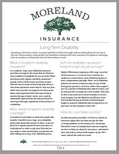 Worker's Compensation Insurance -
