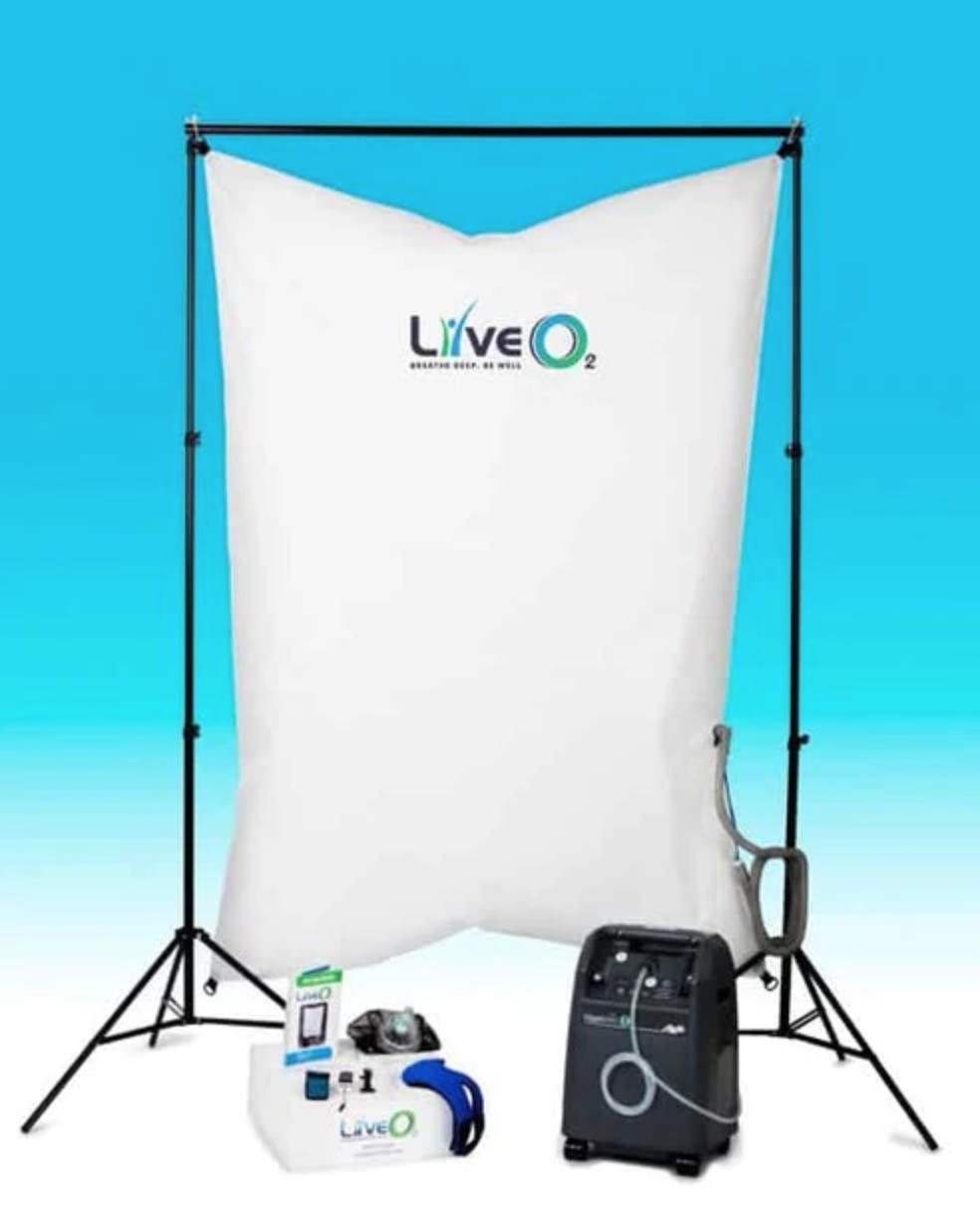 Here is a picture of the Adaptive Contrast Oxygenation System from LiveO2