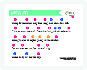 Sing and play-along bell music