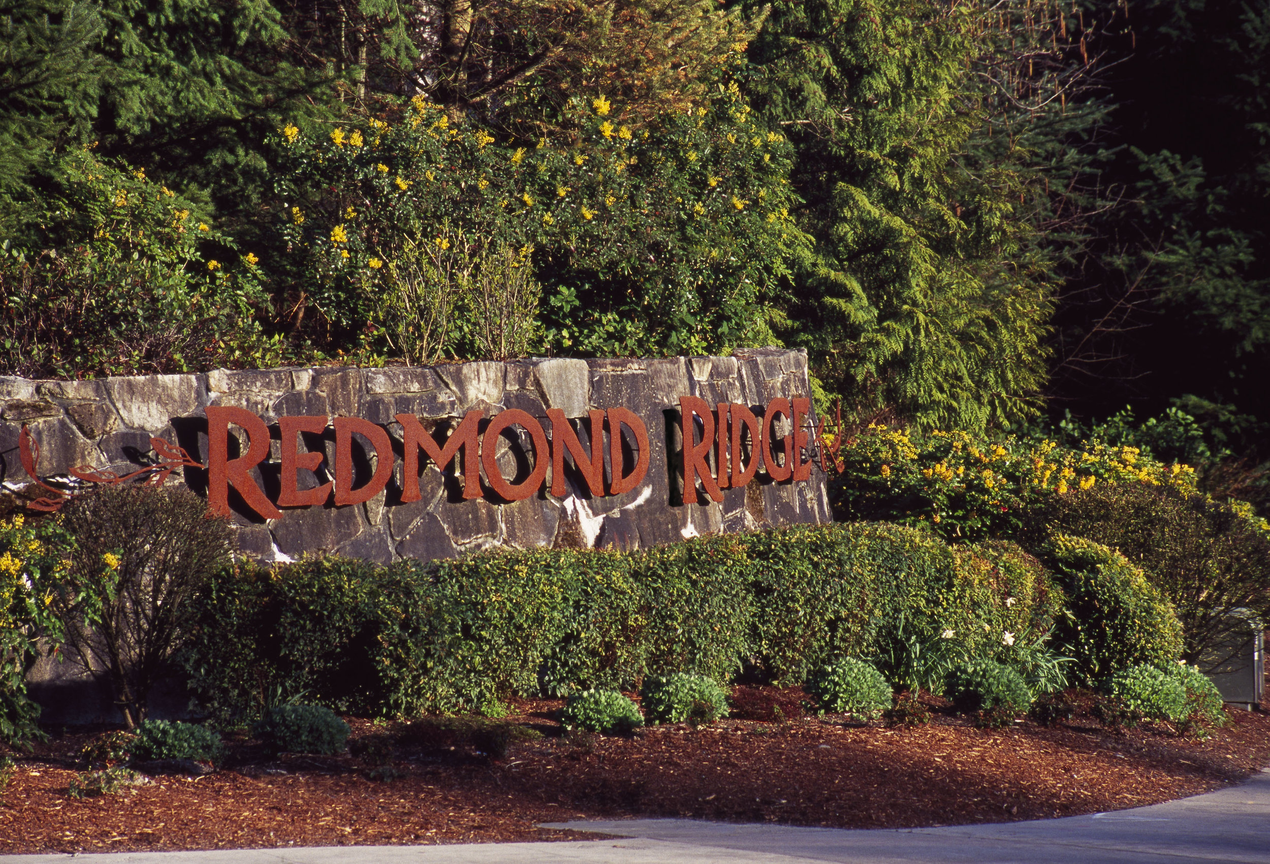 Redmond Ridge Sign