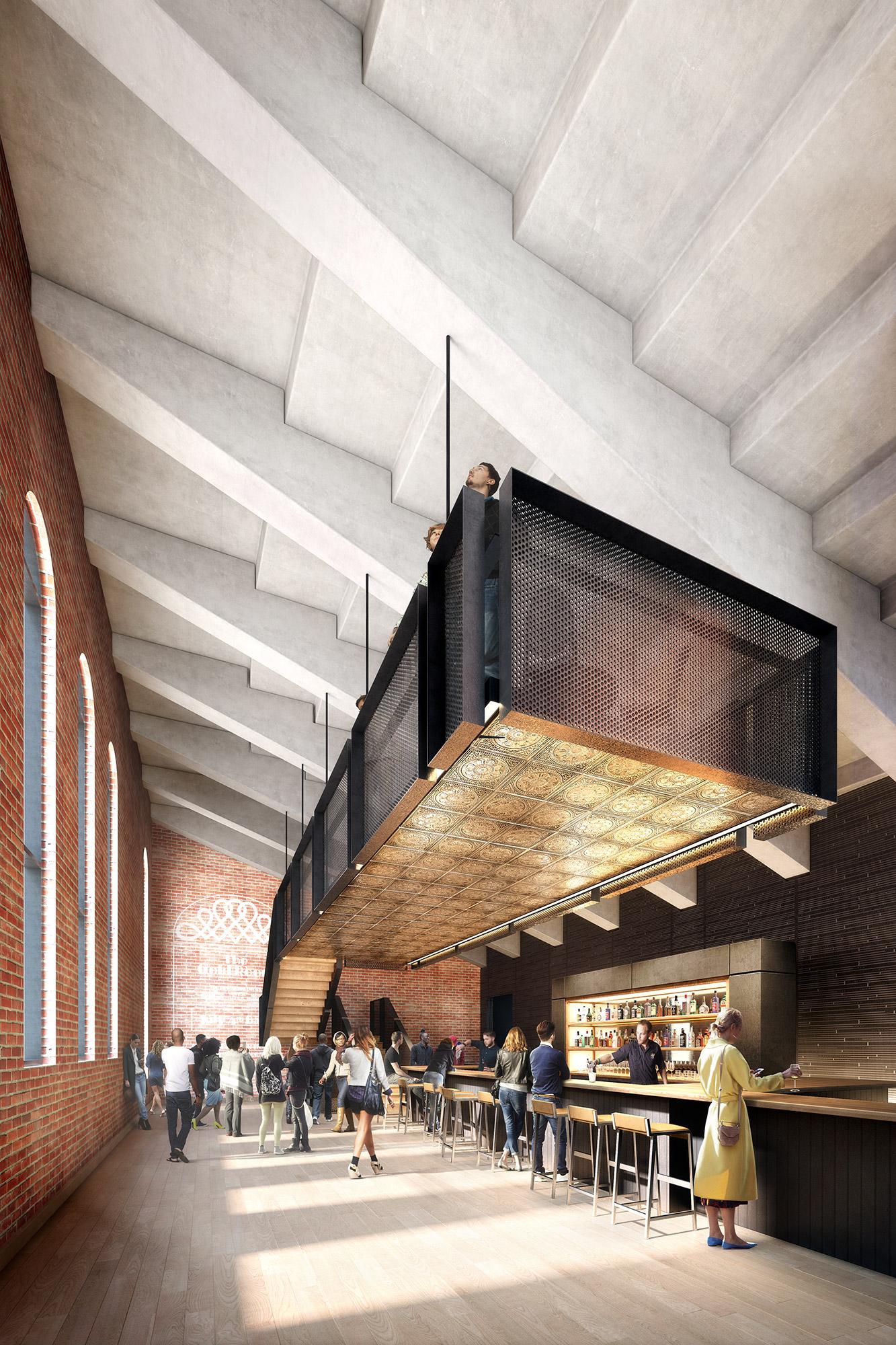 Nitehawk cinema. Think! Architecture & Design