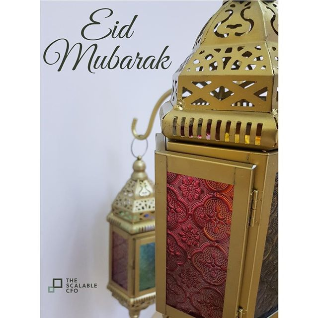 The team wishes all our friends near and far a blessed holiday this Eid... #Eid2019 #EidMubarak #TheScalableCFO #MyDubai