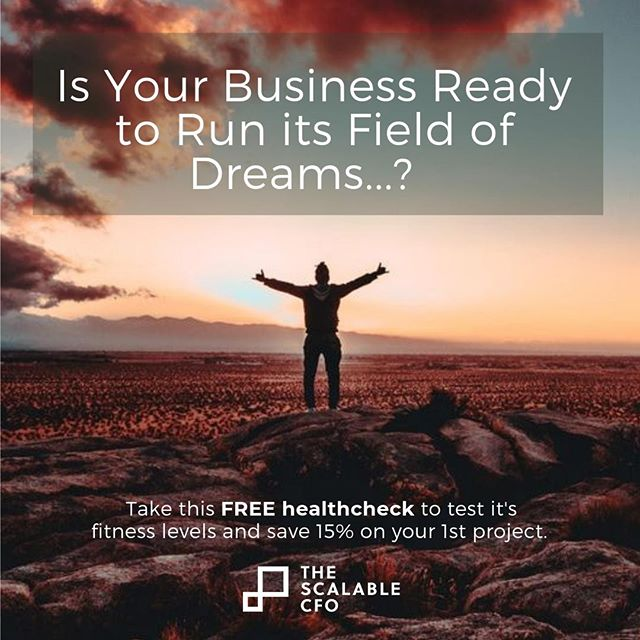 It's September.  Dubai is getting cooler...just.  Time to go for a 'run', check your (business's) fitness, and maybe earn a little discount.  Find the tool in bio link & here:  https://thescalablecfo.typeform.com/to/fXOS3f  #cfo #thescalablecfo #weneedfinancehelpnow #gigeconomy #GetaCFO #flexiblework