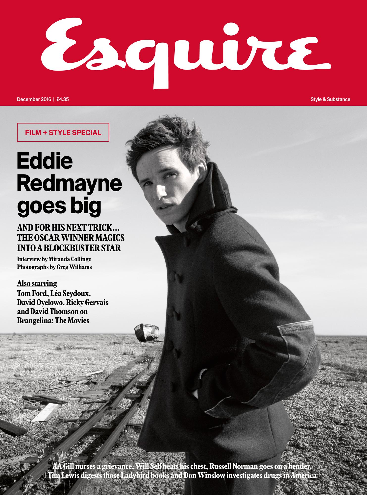 Eddie Redmayne  Newsstand edition