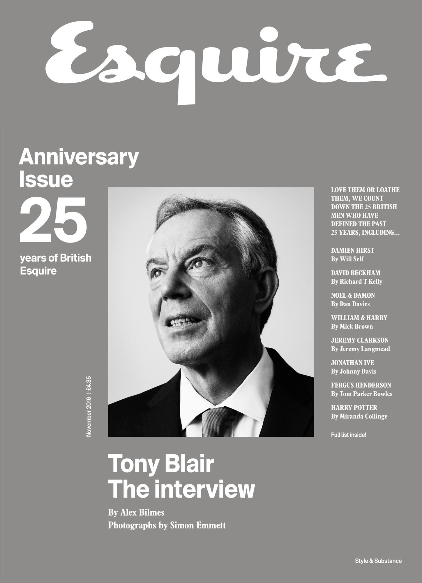 Tony Blair  Newsstand edition