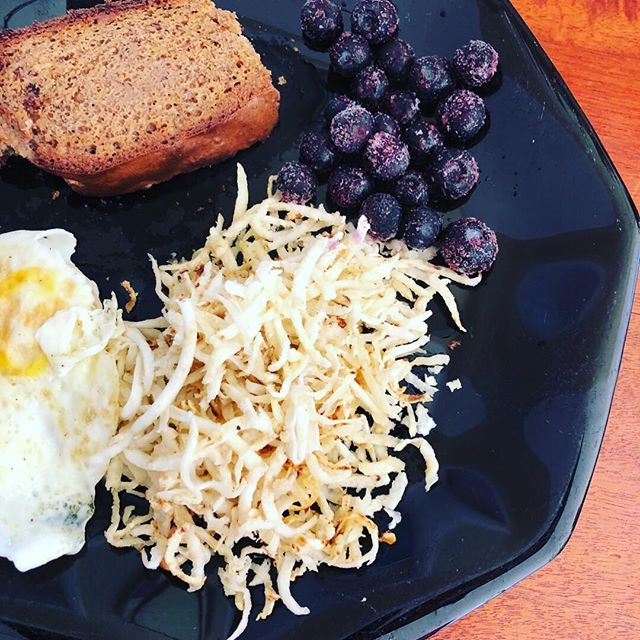 They wanted hash-browns they said. CELERY ROOT it's your time to SHINE. ☀️☀️☀️ * * *  #feedfeed #huffposttaste #buzzfeedfood #foodgawker #dairyfreeketo #autoimmunedisease #healinginprogress #workinprogress #weightloss #weightlossjourney #paleodiet #nightshadefree #whole30 #aipfriendly #whatsonmyplate #functionalmedicine #functionalmedicinecoach #functionalmedicinecoachingacademy #holisticcoach #intuitiveeating #mindbodygreen #mindbodyspirit #mindsetiseverything #mindsetcoach #getoutdoors #growhealthy #livefully #rootofwellbeing