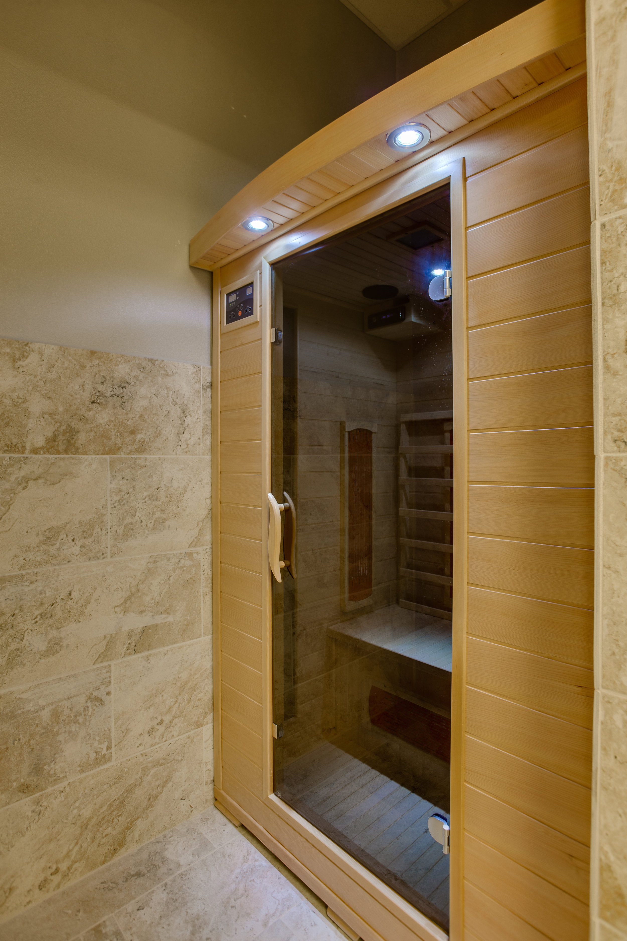 Enjoy our sauna after your workout