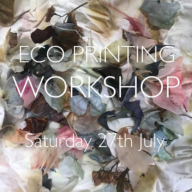 Eco Printing and Bundle Dyeing Workshop @3rdrailprintspace @peckhamlevels Saturday 27th July.. come and learn how extract colour and pattern from flowers, leaves, extracts and other dyestuff through the process of binding and steaming.  See my website for more information or to book a place... . . #ecoprinting #naturaldye #bundledye #sustainabletextiles #nature #colour #london #courses #learnsomethingnew #workshops #slowcraft #craft #pattern #print #silk #leaves #petals #flowers #foodwaste