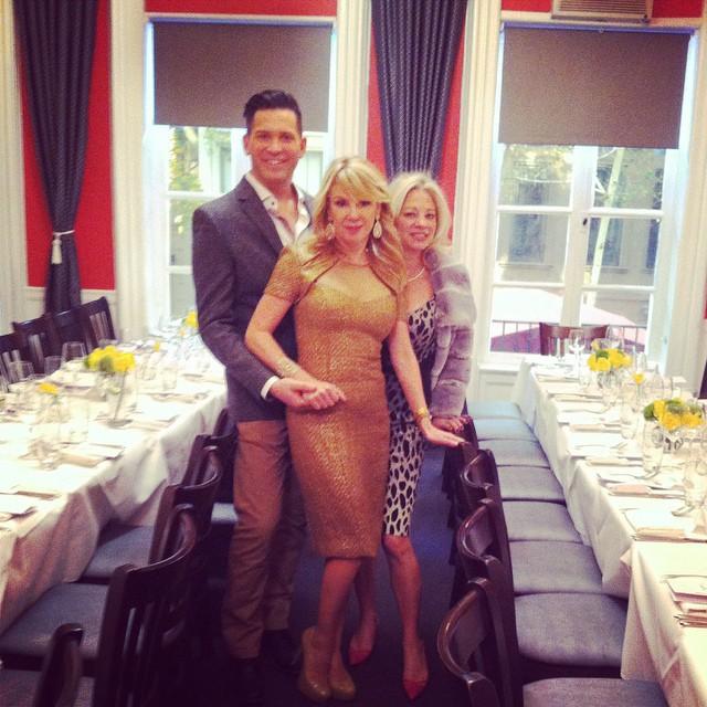 David Burke Restaurant hosting Ramona Signers Birthday