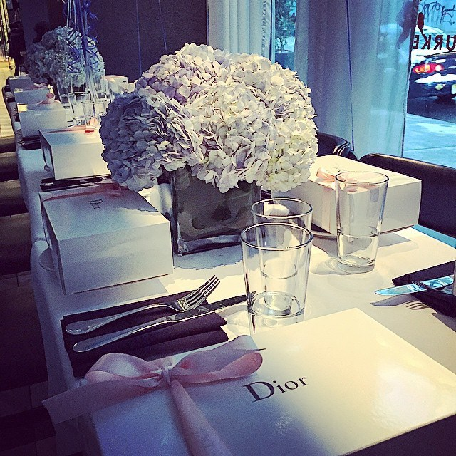 David Burke Bloomingdales Dior Event.