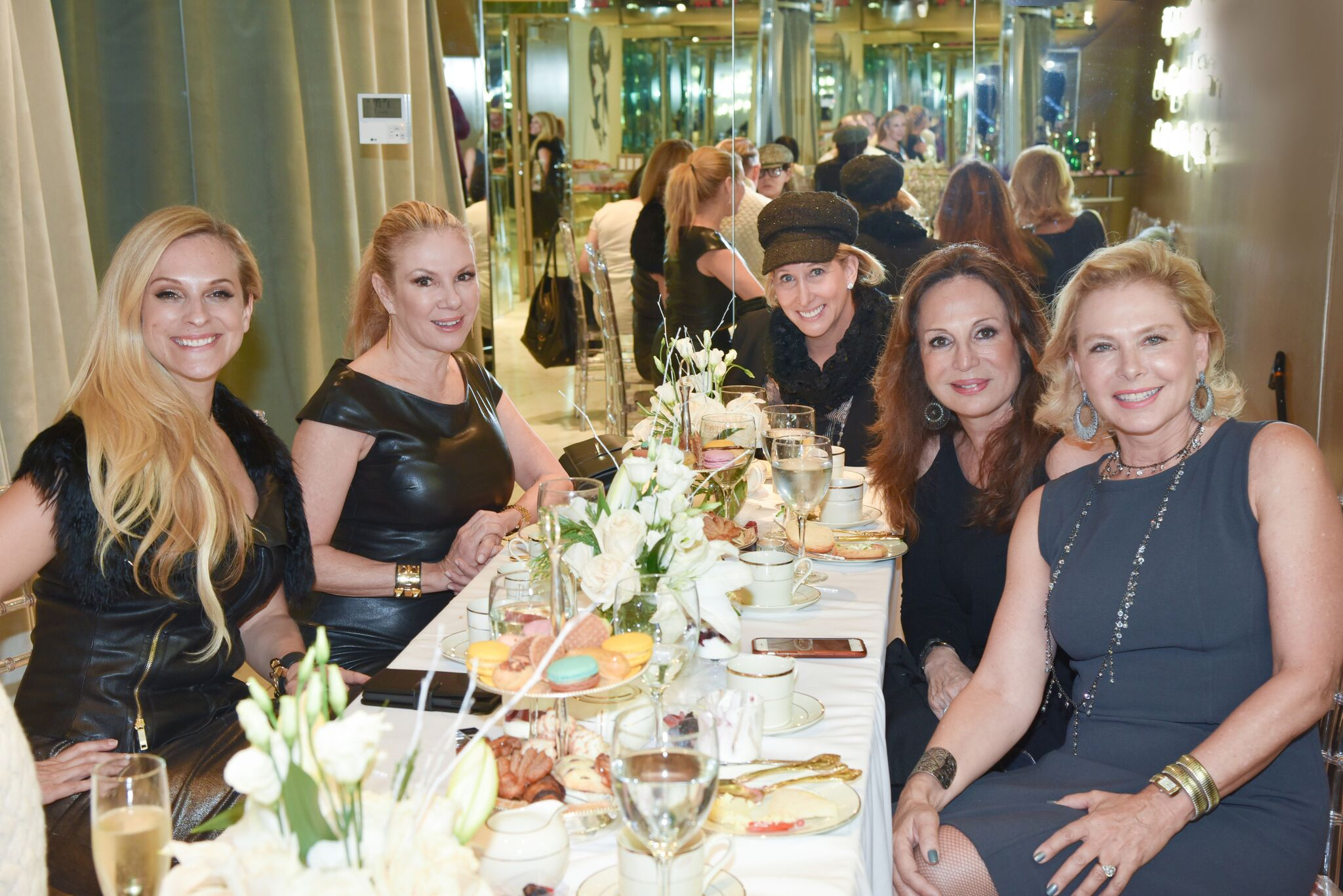 Jitrois Flagship Madison Avenue, New York City with Ramona Singer, Consuelo Vanderbilt Costin, Pamela Morgan