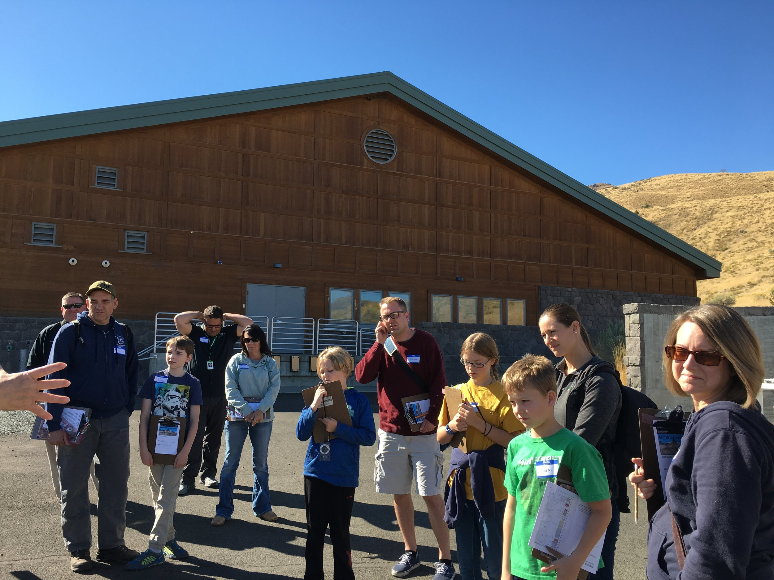 The John Day Fossil Beds Visitor's Center