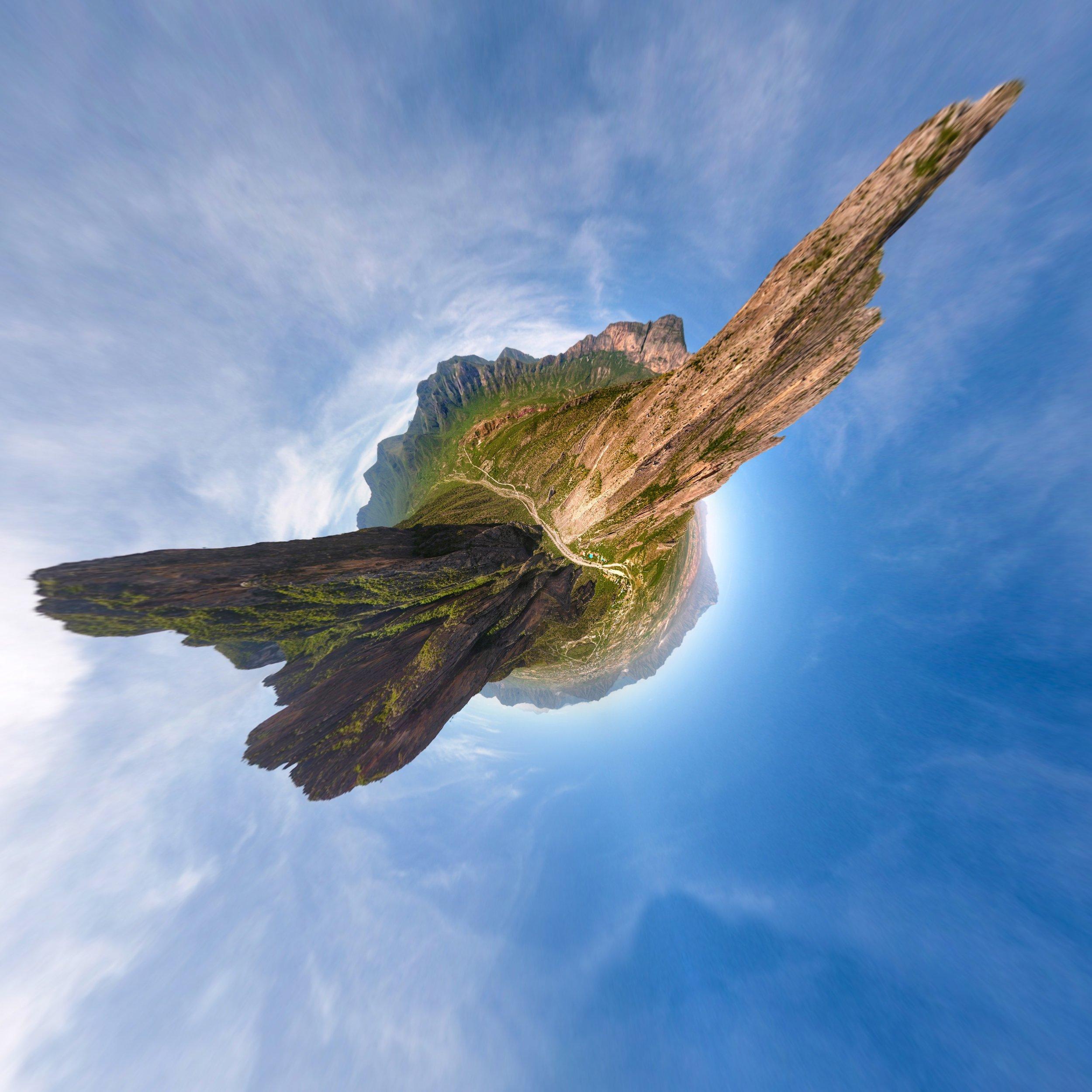 Sister Peaks - El Potrero Chico
