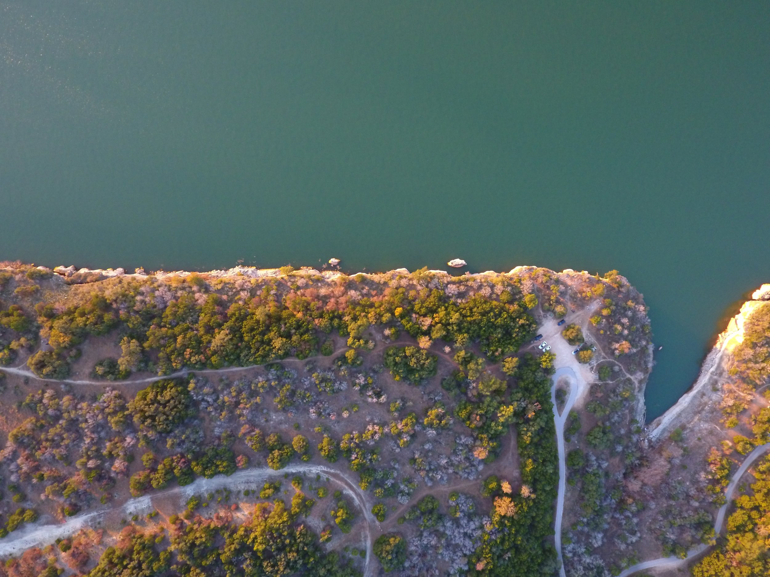 Pace Bend Golden Hour