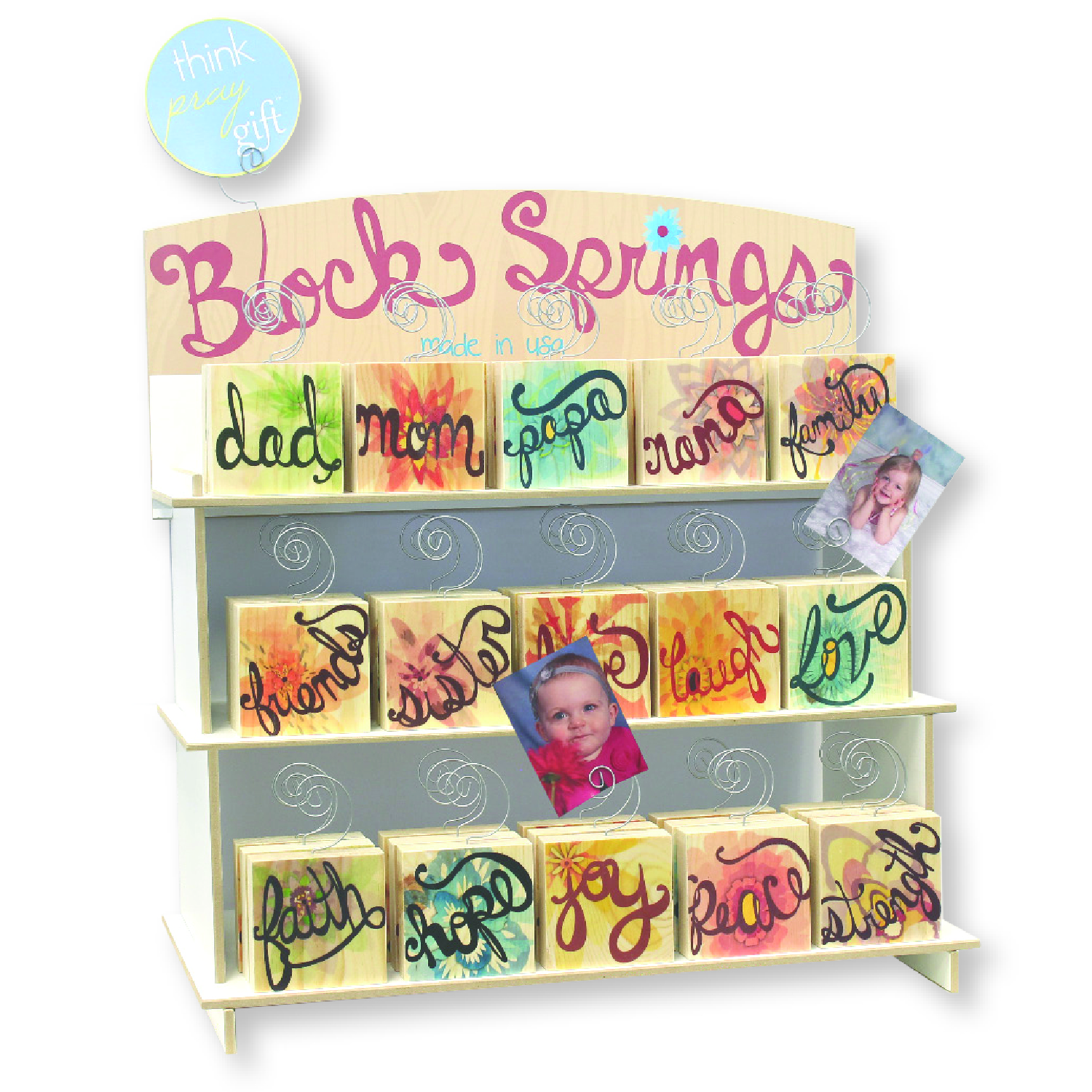 Block Spring Display Unit