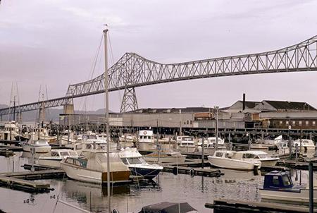 Astoria-Megler Bridge. Photo: Marion Dean Ross, 1966