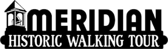 The City of Meridian's Historic Preservation Commission created this self-guided tour. The tour is also accessible through the Tour Buddy app. For more information click on the logo above.