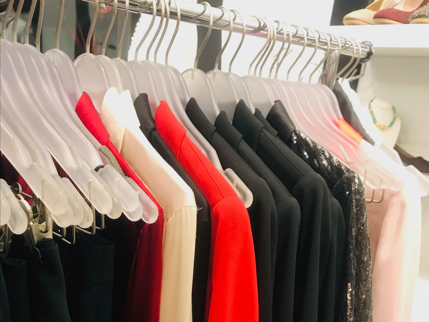 tux couture rack
