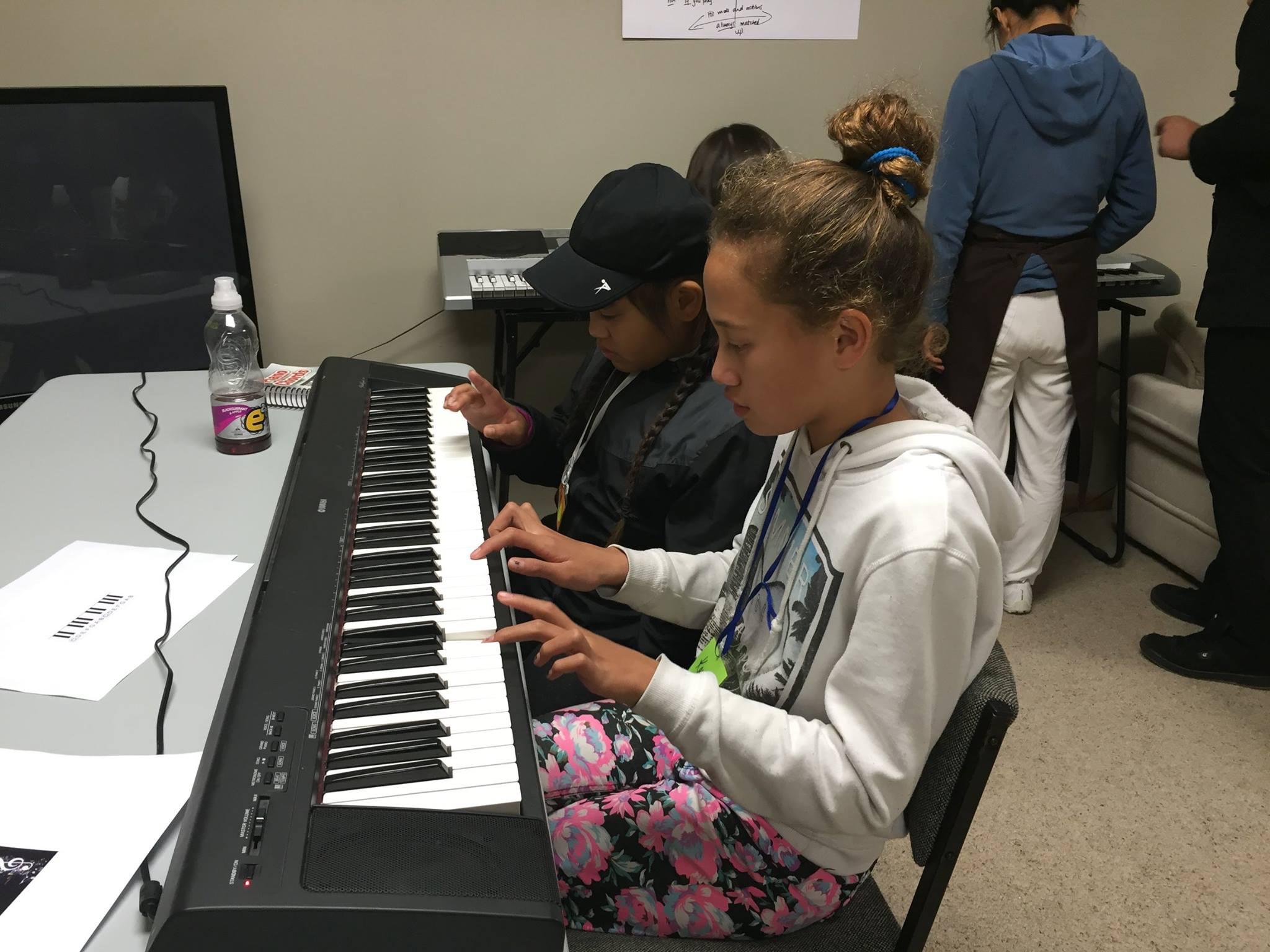 Fun learning keyboard
