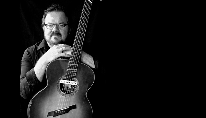 """Don has been on the forefront of the contemporary fingerstyle movement for 30 years, and it is no exaggeration to say that his groove-oriented style has influenced a generation of fingerstyle players around the world..    """"Nobody does what Don Ross does with an acoustic guitar. He takes the corners so fast you think he's going to roll, but he never loses control.""""      - Bruce Cockburn"""