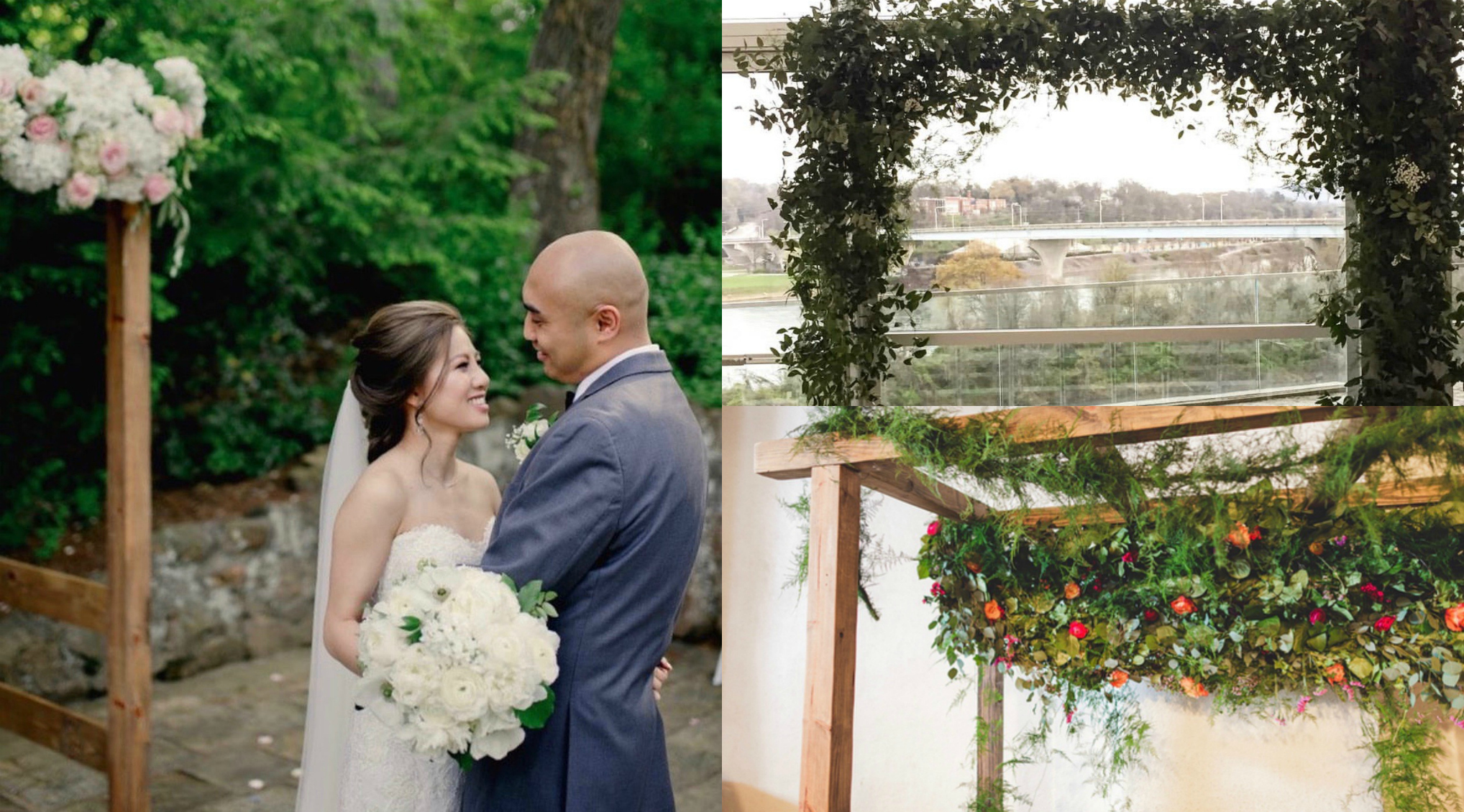 photography (left, top right, bottom right):  Arc Studio Photography ,  Fox & Fern ,  Rich Smith Photography