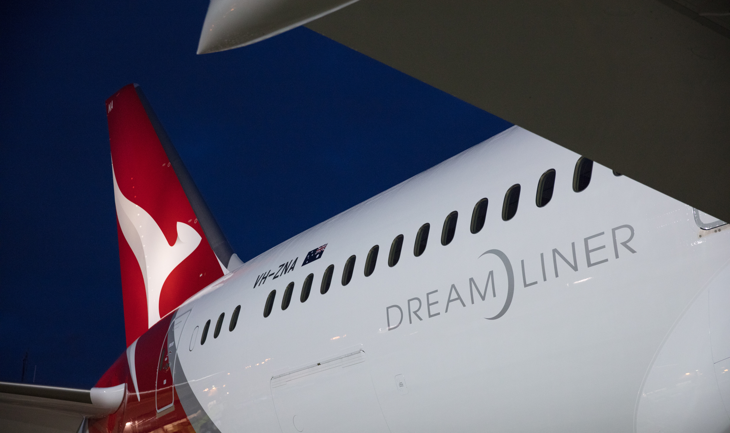 New livery for the new aeroplane
