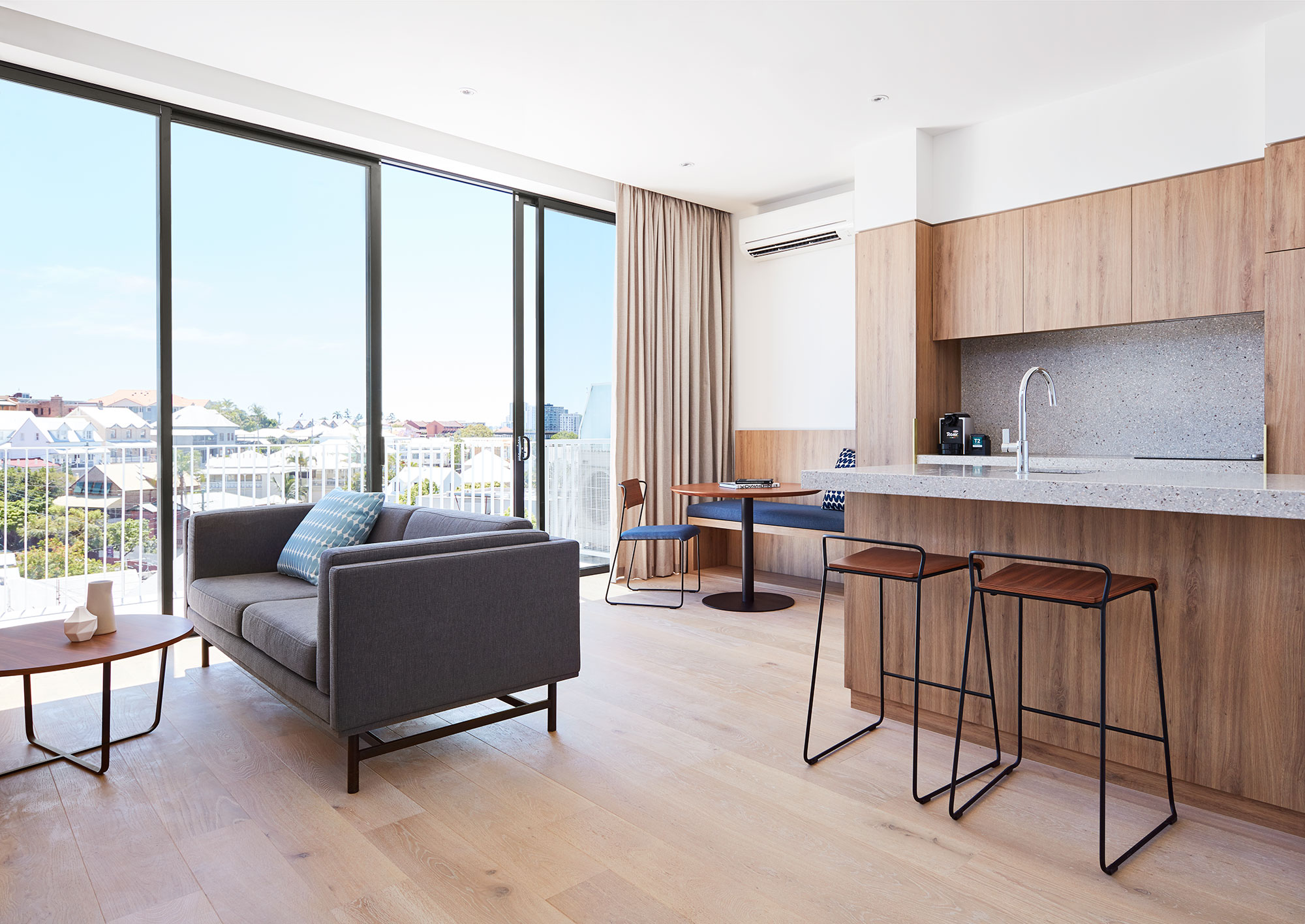 Two bedroom apartment.