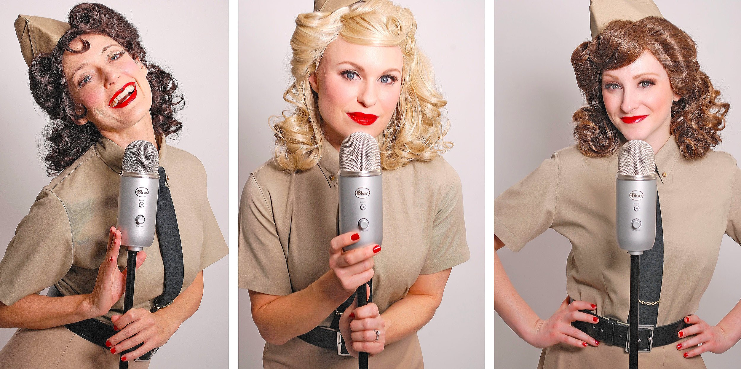 The Swing Dolls as The Andrews Sisters