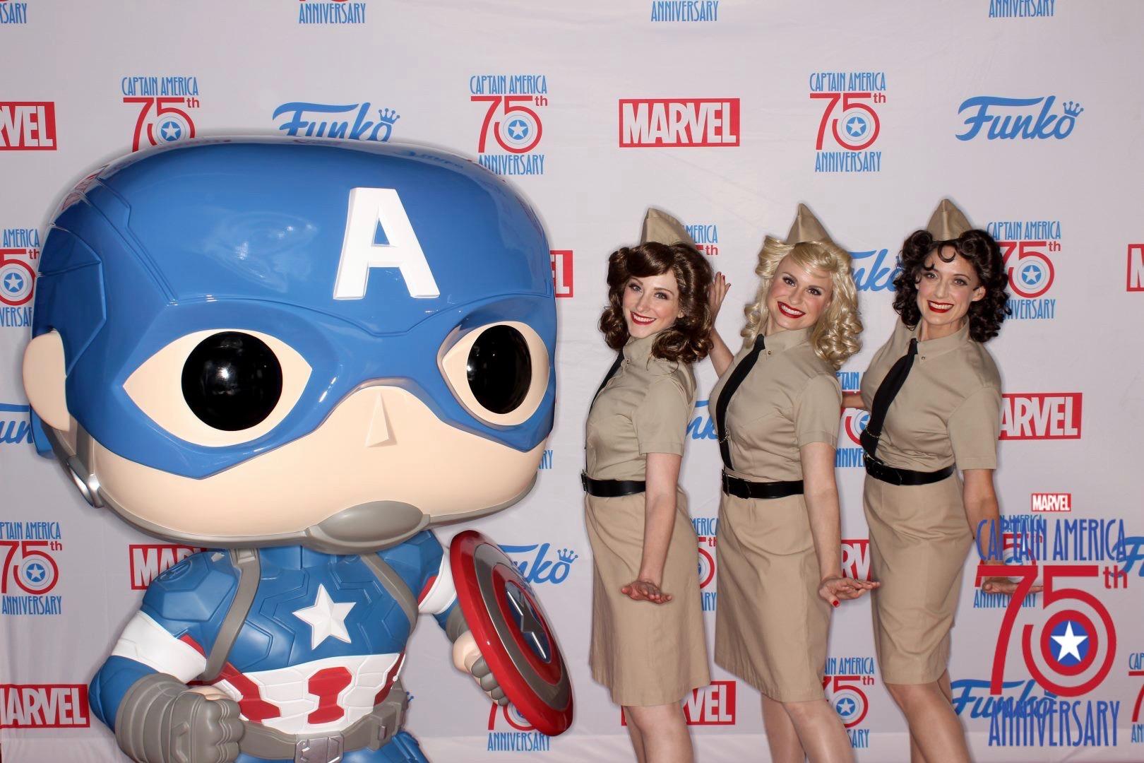 Comicon 2016, Captain America's 75th Anniversary