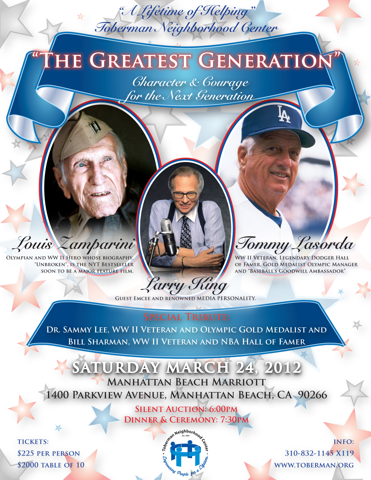 The Greatest Generation event
