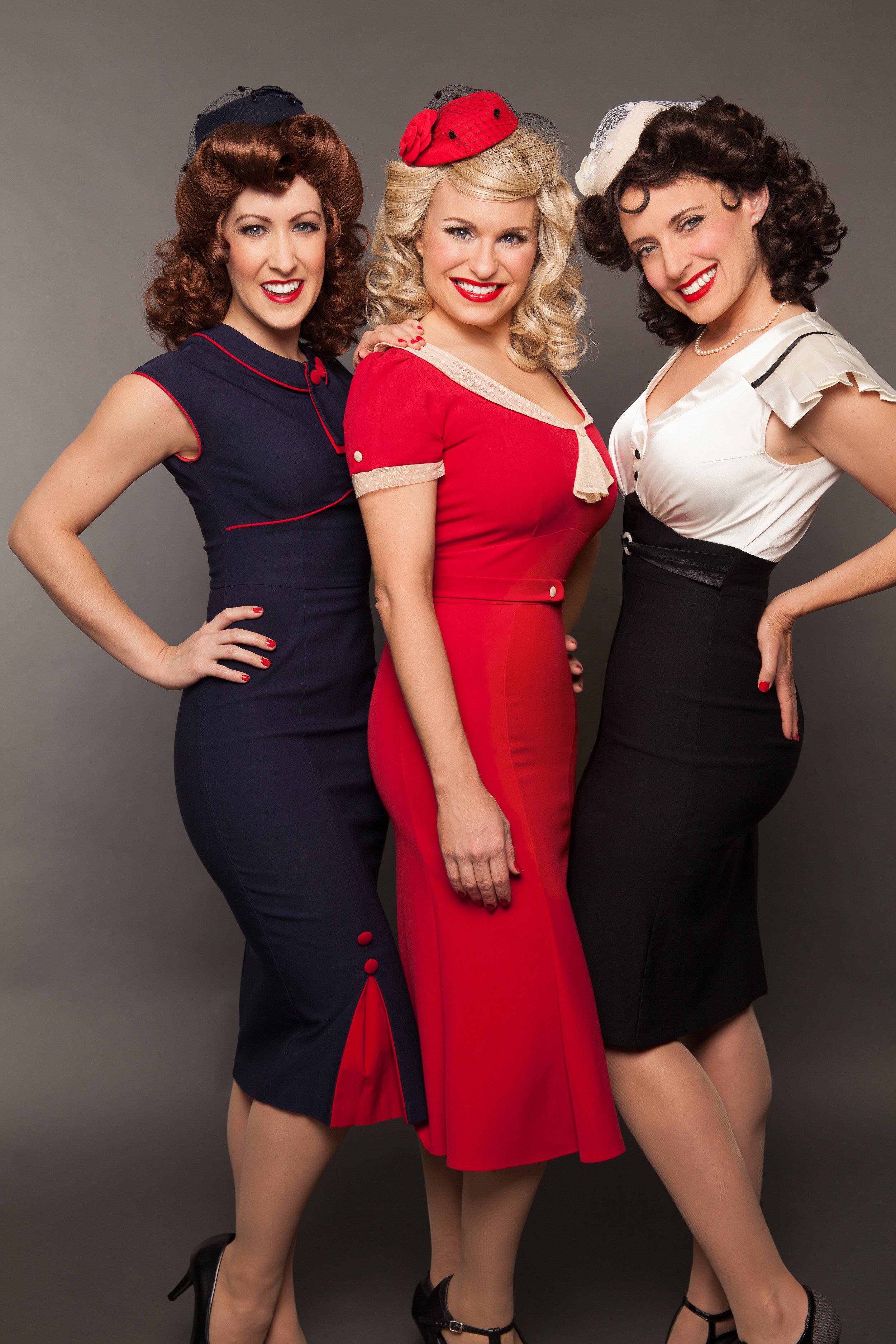 The Swing Dolls retro 1940's jazz trio