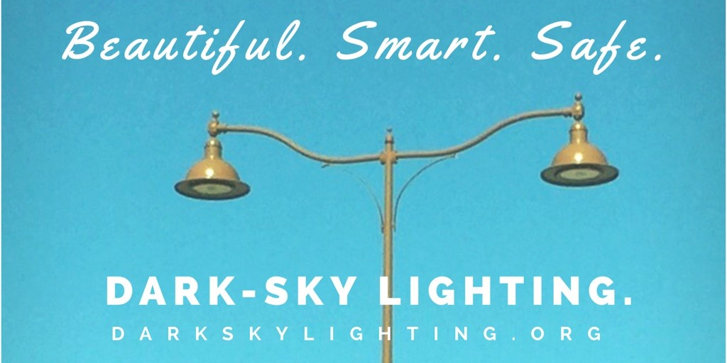 Beautiful. Smart. Safe. Dark-Sky Lighting.