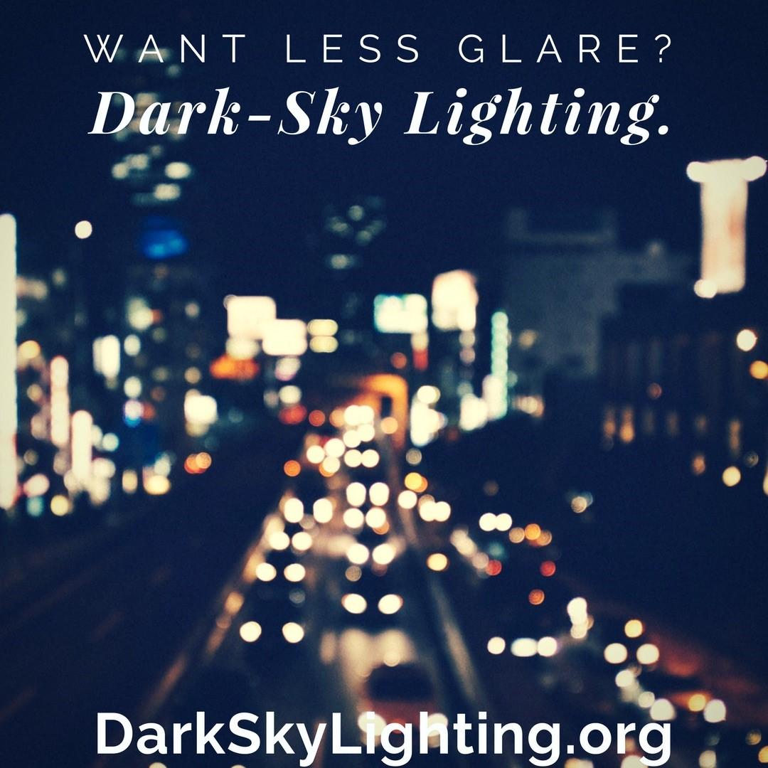 Less Glare.