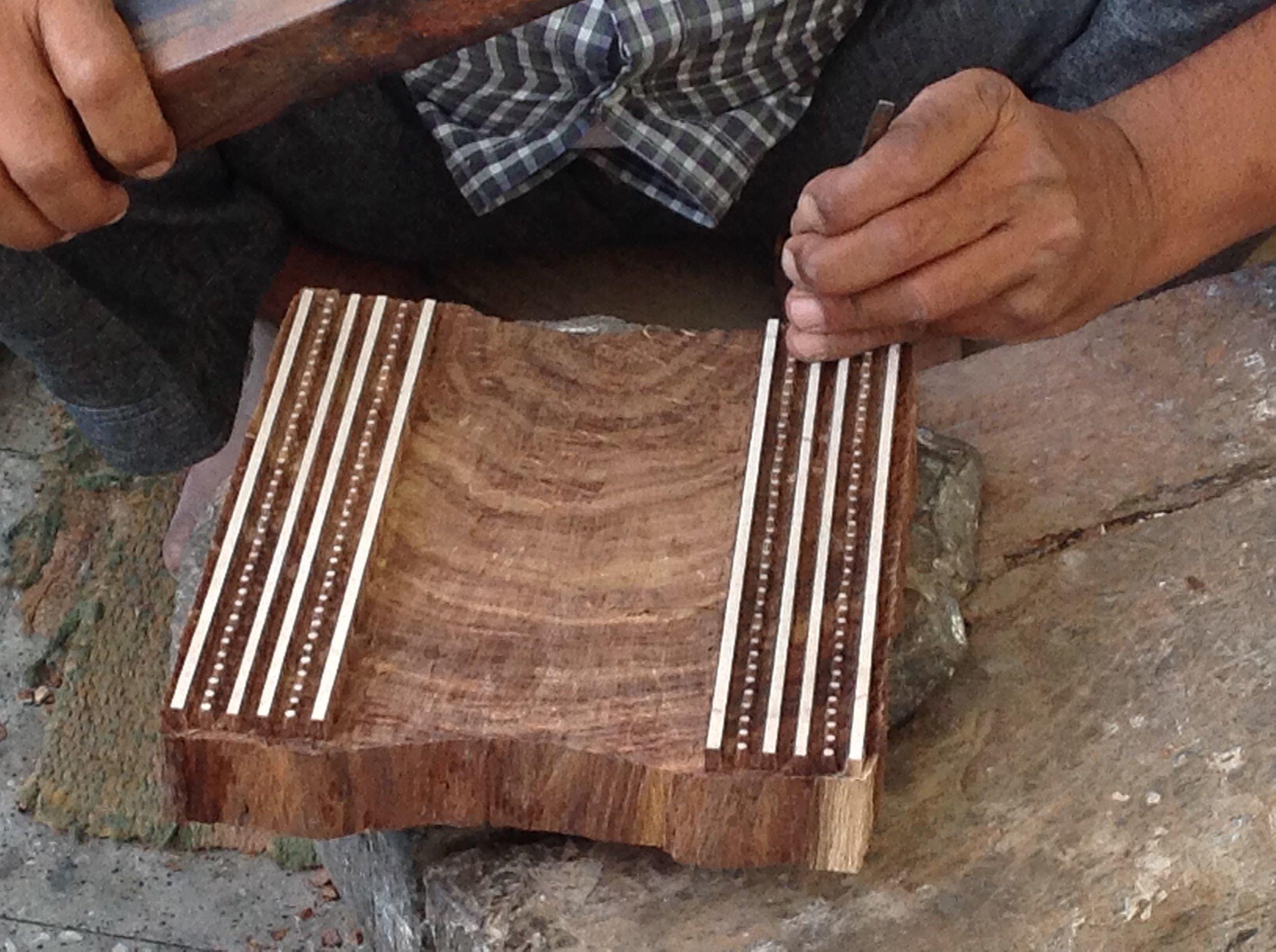 Making the Woodblock