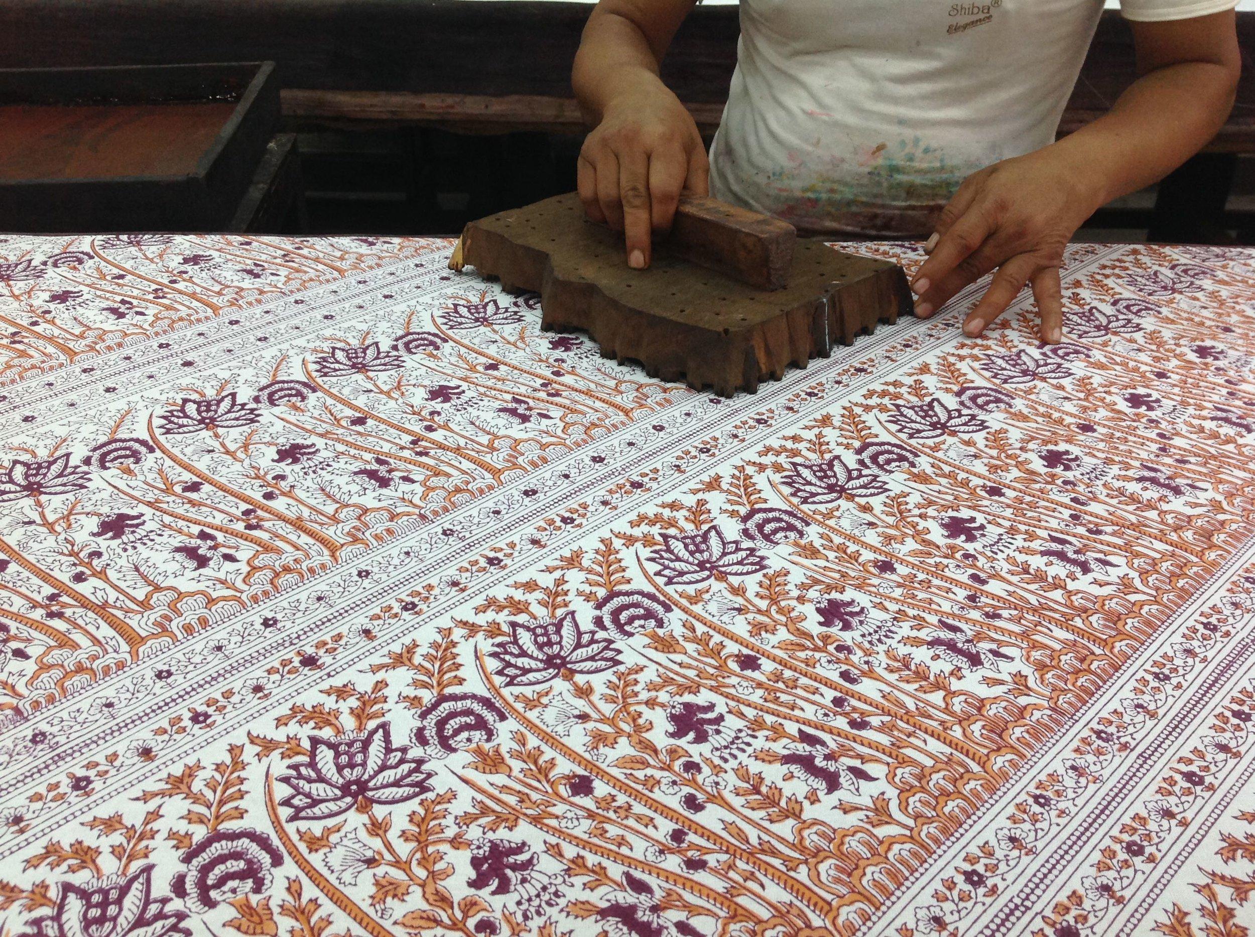 Printing The Fabric