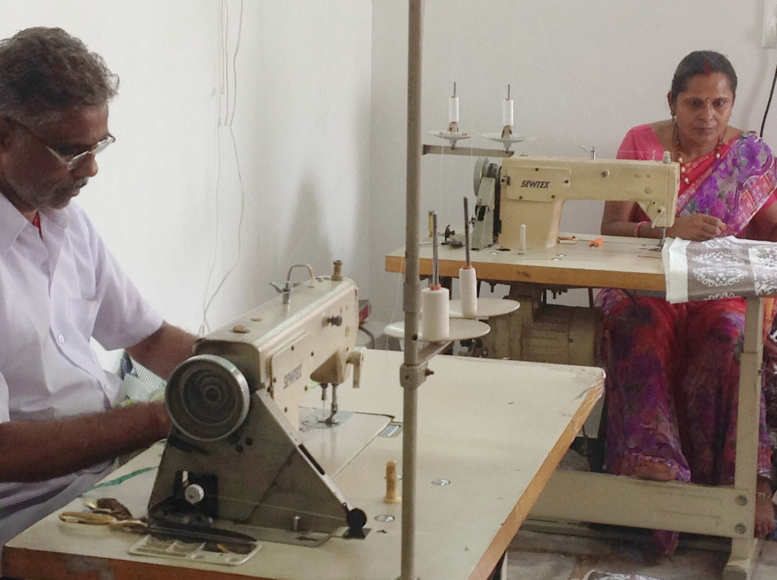 Sewing the Garment