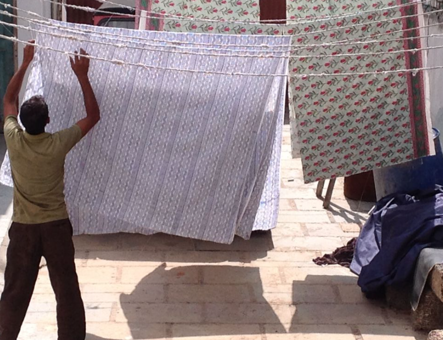 Drying The Fabric