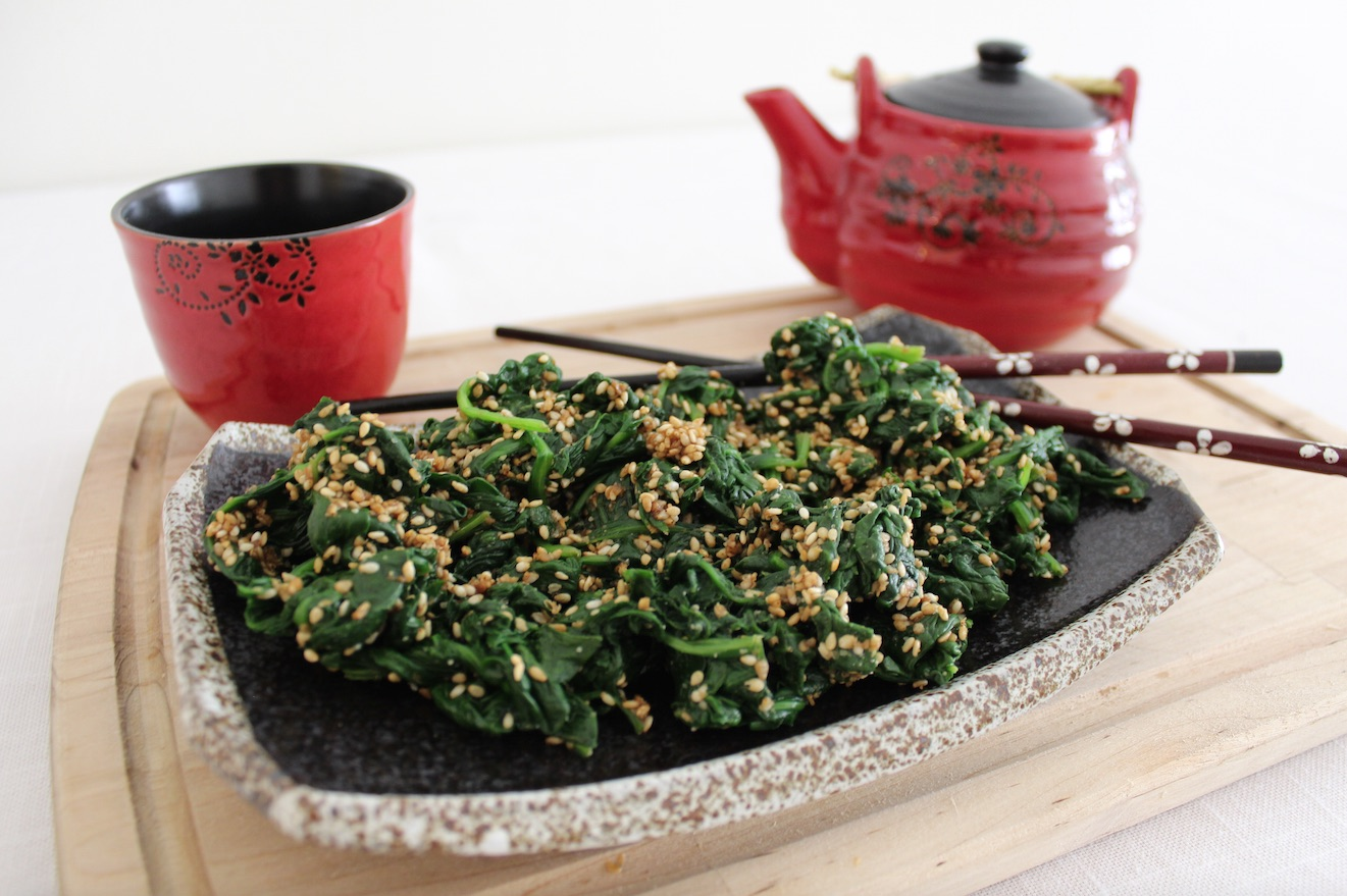 Japanese spinach recipe
