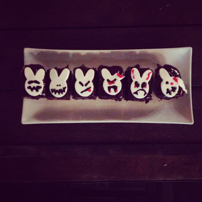 Evil Bunny Halloween Cak