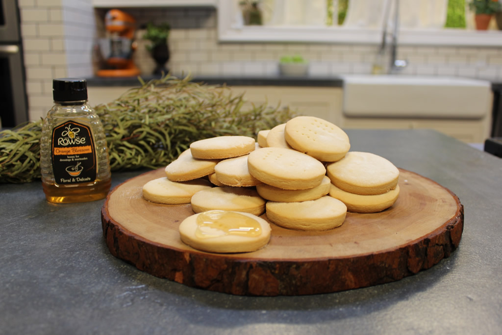 Honey Shortbread Recipe