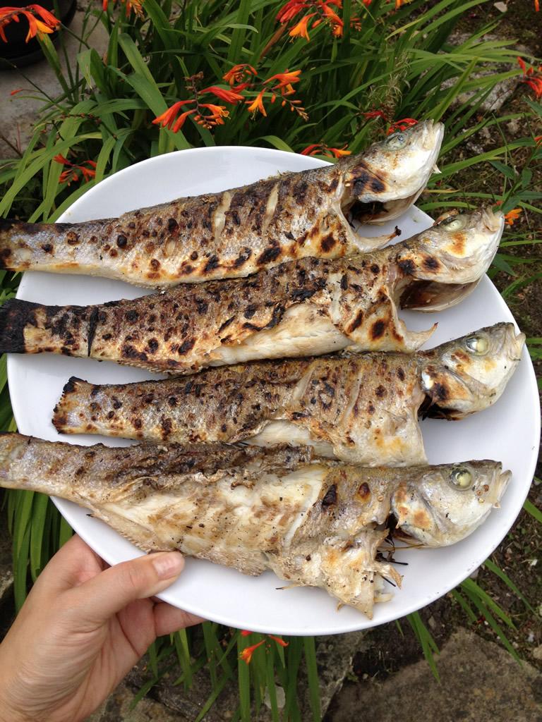 Ikan Bakar Malaysian recipe