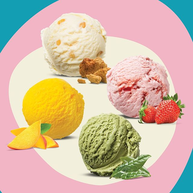 Full of flavour and totally mouth-watering, our ice creams are made from nothing but the best ingredients. That's what makes them taste so great!