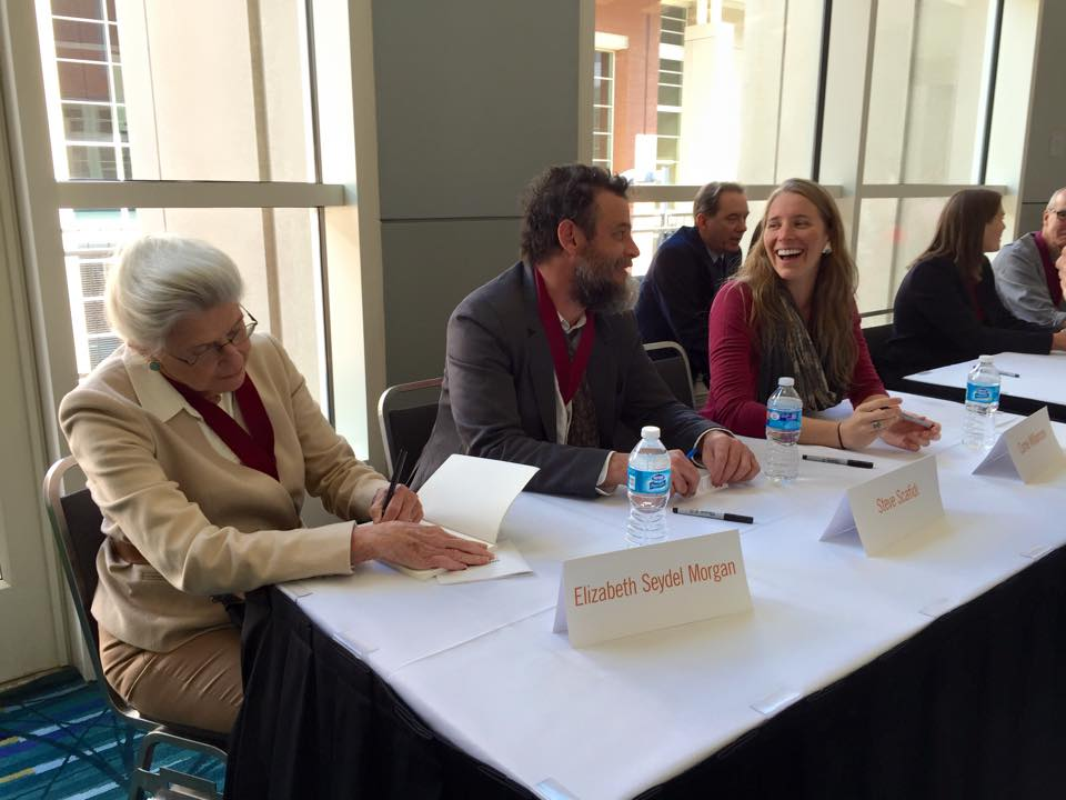 Book Signing with Elizabeth Seydel Morgan and Steve Scafidi, courtesy of the Poetry Society of Virginia.