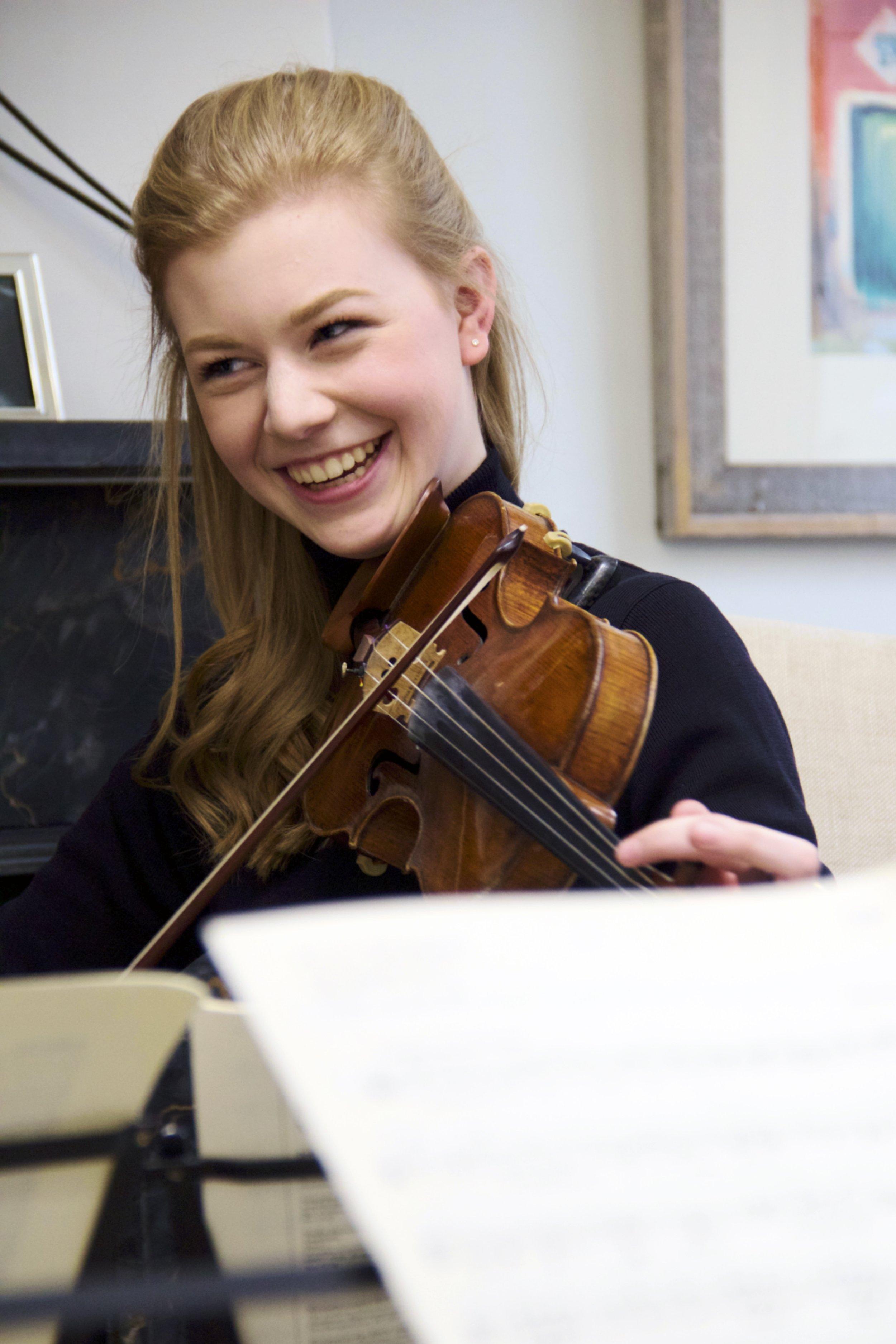 Kate Arndt, Violinist