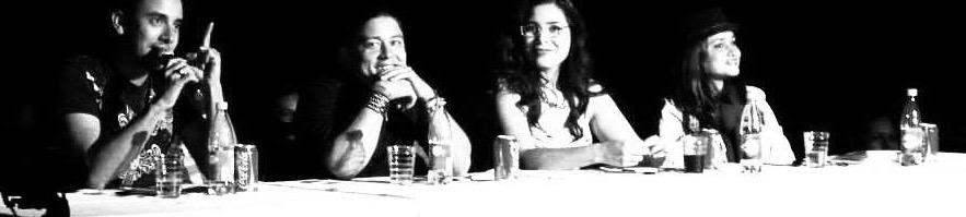 """Gabriel Cuellar, """"Nono"""" from """"Los Bohemios del Reggaeton, Sheyla Downing, and Rose"""