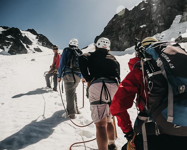 Glacier Ascent -