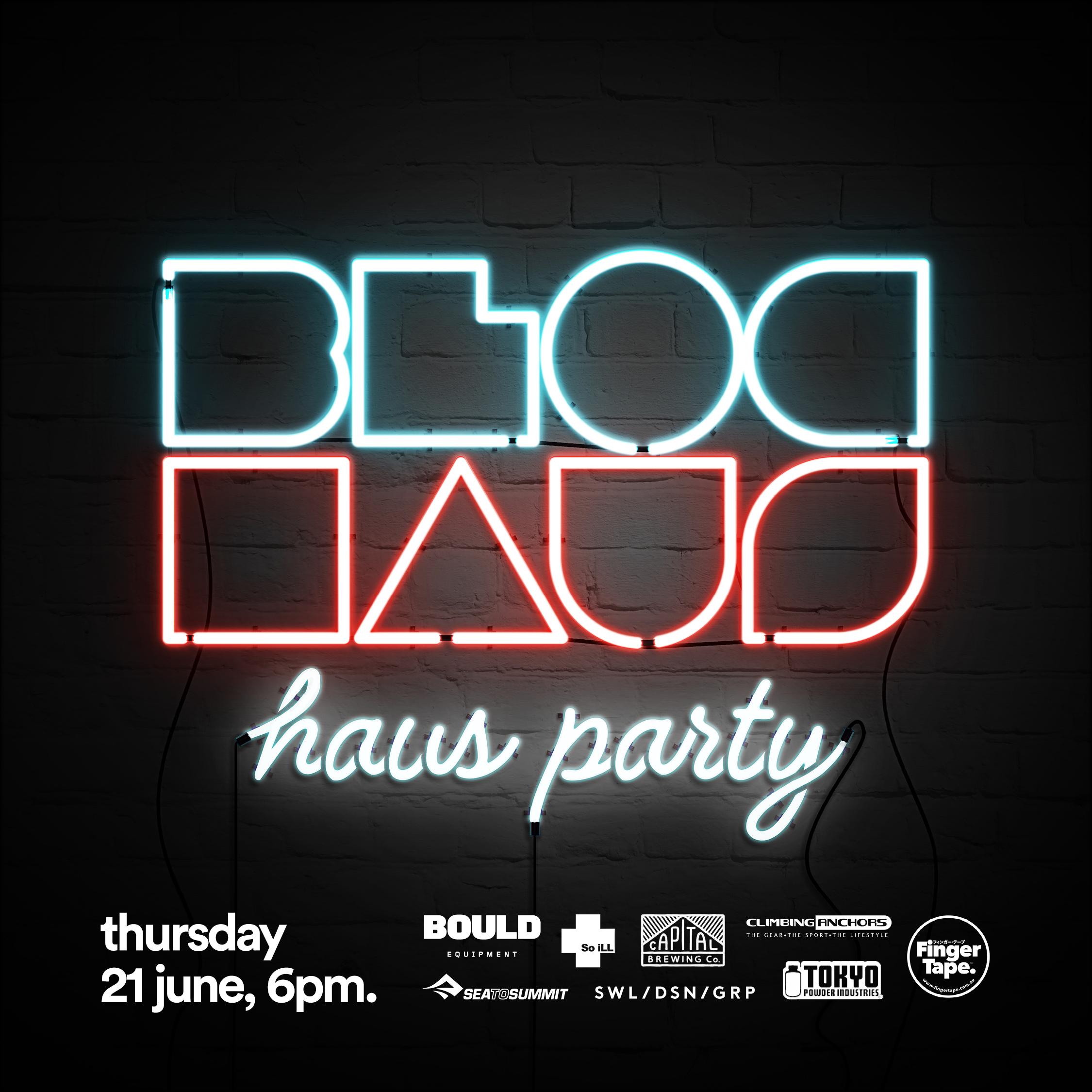 2nd haus party — thursday june 21, 6pm.