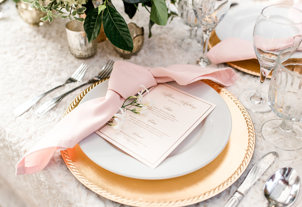 Orange-County-California-Romantic-Styled-Shoots-Across-America-Place-Setting-Knotted-Napkin-Menu-Charger.jpg